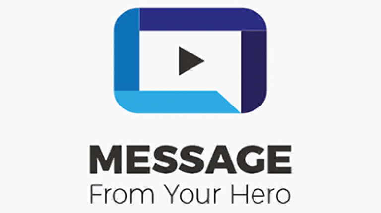 Message from your Hero